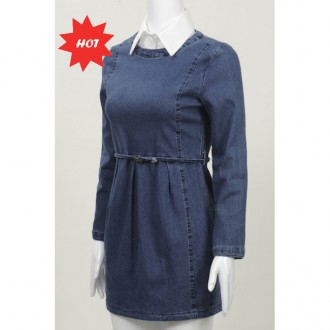 Denim Dress 牛仔连衣裙
