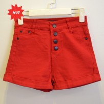 Colour Denim Shorts 牛仔短裤