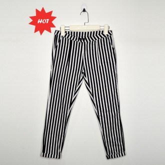 Skinny Striped Pants  条纹窄身裤