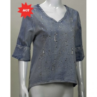 Denim Top 牛仔上衣