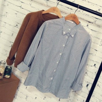 Desfry Lace Plaid Shirt