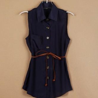Reserved Basic Sleeveless Shirt