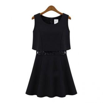 Reserved black little dress