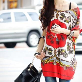 Sancarlos Lotus Leaf Sleeve Long Top Dress