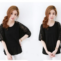 Sancarlos Lace Spliced blouse