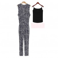 DesFry Leisure Jumpsuit And Vest