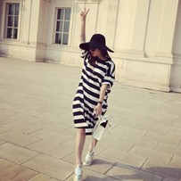 Sancarlos Stripe Long Dress