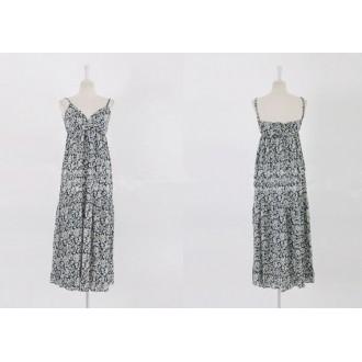 Sancarlos Flower Long Dress