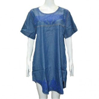 CafeNoir Denim Dress