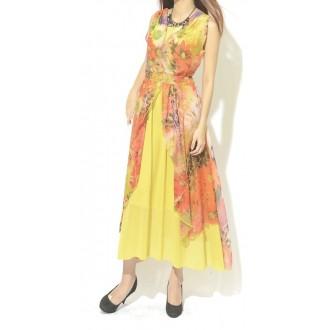 Chiffon Floral Dress 雪纺碎花