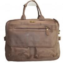 DesFry Men's Full Leather Handbag