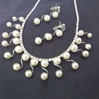 Pearl Jewellery Set 珍珠首饰配套