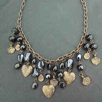 Beads Necklace 黑珠项链